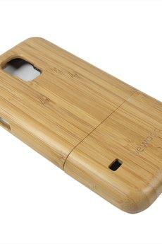 bewood - Drewniana obudowa Samsung S5 Vintage Bambus