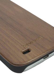 bewood - Drewniana obudowa Samsung S4 Modern Orzech
