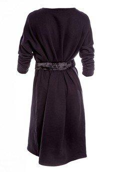 RICZI - Suknia oversize z paskiem