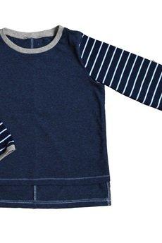 - navy striped longsleeve
