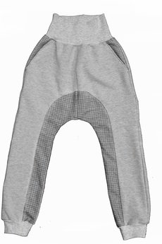 - grey basic pants
