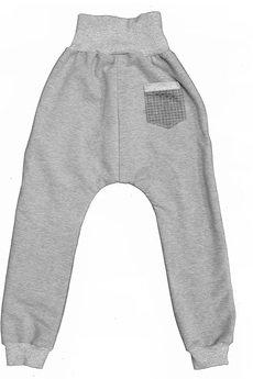 midfashion - grey basic pants