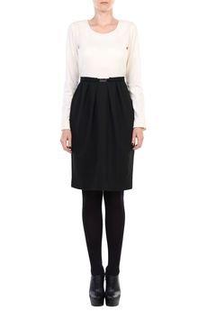 YULIYA BABICH - Sukienka ołówkowa z zakładkami