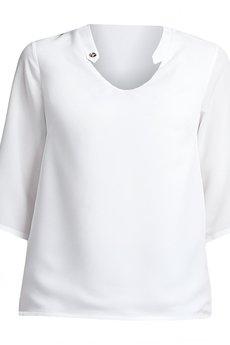 Lanti - Lekka bluzka BLU 116 - biała