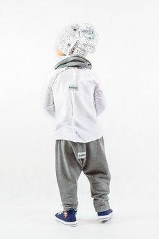 Gapula - Bluzeczka z przeszyciami - biała