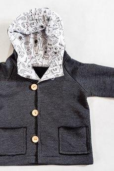 Gapula - Bluza rozpinana z duszkami