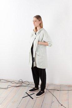 - płaszcz # 8 WHITE RAIN