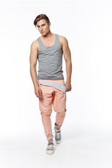 MADOX design - spodnie madoxy łososiowe