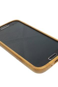 - Drewniana obudowa Samsung S4 Vintage Bambus