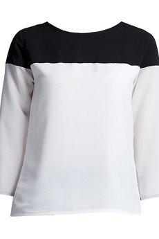 Lanti - Bluzka, BLU117 czarno-biała