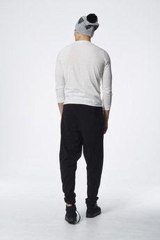MADOX design - spodnie dresowe z niskim krokiem czarne