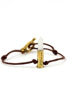 Unikke Design - Better Wear Than Use- Crystal Bullet Bracelet