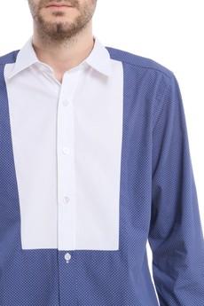 BLUE EYE POP - Dwukolorowa koszula B/E/P_K46