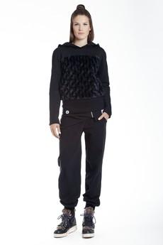 KOKILOK - Czarna bluza TEDDY