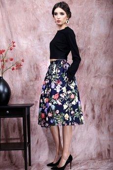 Kasia Miciak design - Kwiecista spódnica z kieszeniami