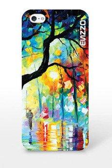 ENZZO - Etui do iPhone5/5sSubject_tree+ folia+ chusteczka z mikrofibry