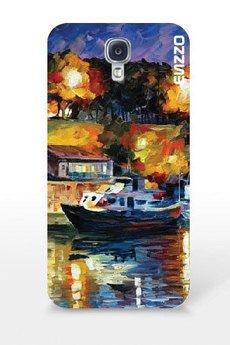 """ENZZO - Etui do Samsung Galaxy S4'Ship""""+foila+chusteczka z mikrofibry"""