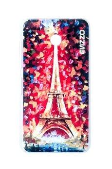 """ENZZO - Etui do Nokia Lumia 635 """"eiffel tower""""+chustka z mikrofibry"""