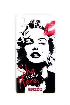 """- Etui do sony Xperia Z2"""" Marilyn""""+chustka z mikrofibry"""