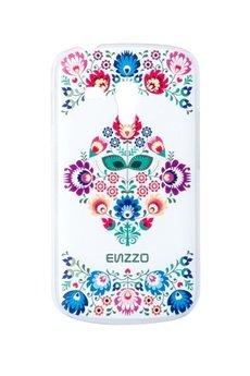 """ENZZO - Etui do Samsung Trend Plus """" Folk""""+folia+chusteczka z mikrofibry"""