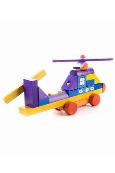 Tarnawa.pl drewniane zabawki   helikopter z klock%c3%b3w 1