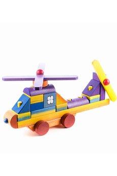 Tarnawa.pl drewniane zabawki   helikopter z klock%c3%b3w du%c5%bcy