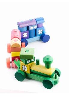 Tarnawa.pl drewniane zabawki   poci%c4%85g z klock%c3%b3w du%c5%bcy