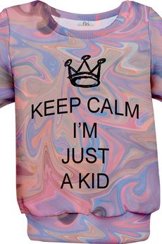 Pini - Bluza keep calm maluch