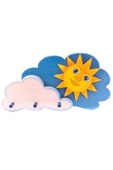 Tarnawa Toys - Wieszak słońce w chmurach