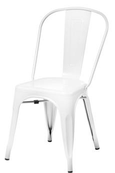 MIA home passion - Krzesło Metalove white