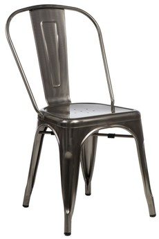 MIA home passion - Krzesło Metalove graphite