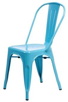 MIA home passion - Krzesło Metalove blue