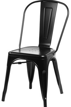 MIA home passion - Krzesło Metalove black