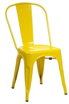 MIA home passion - Krzesło Metalove yellow