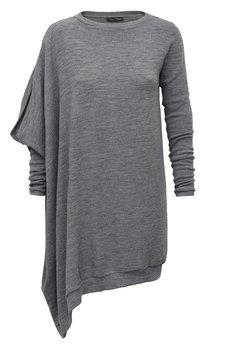 Gosia strojek 360z%c5%82 sukienkosweter asymertyczny