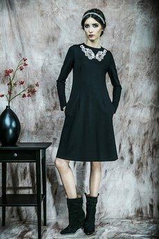 Kasia Miciak design - Sukienka z koronkową aplikacją