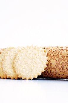 Valek Rolling Pins - FOLK - wałek do wytłaczania ciastek, wzór w folkowe kwiaty