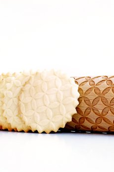 Valek Rolling Pins - OKRĘGI - wałek do wytłaczania ciastek, geometryczny wzór