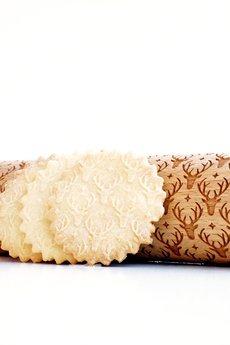- RENIFERY - wałek do wytłaczania ciastek
