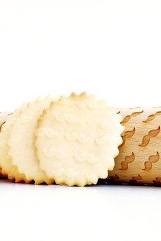 Valek Rolling Pins - WĄSY - wałek do wytłaczania ciastek