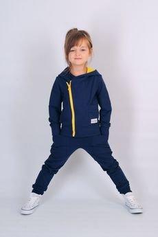 Guga Marie - Bluza Blue Zipp