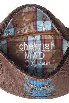 MADOX design - nerka brązowa z sową