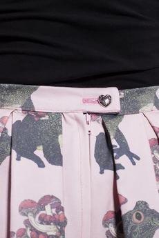 w kropki - PINK FROGS Spódnica w ropuchy