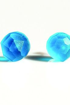 - dropsy niebieskie transparentne