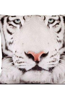 MIA home passion - Poduszka Biały Tygrys