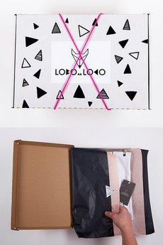 Lobo Loco - Dresowa bluza oversize Lobo Loco NAVY