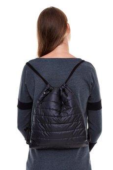 - Plecak pikowany / czarny