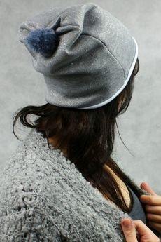 drops - czapka z pomponem