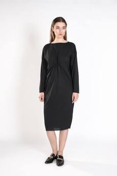TRUSST ME  - BLACK PULLER DRESS