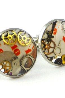 - Zegarkowe spinki